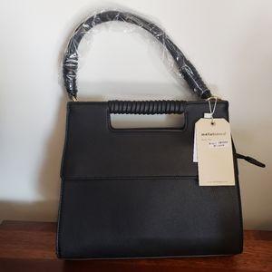 Melie Bianco - Blair black shoulder bag